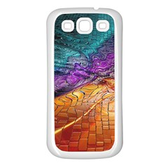 Graphics Imagination The Background Samsung Galaxy S3 Back Case (white)