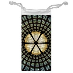 Stained Glass Colorful Glass Jewelry Bag