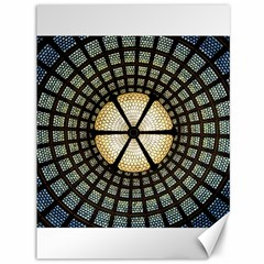 Stained Glass Colorful Glass Canvas 36  X 48   by BangZart