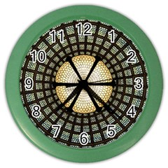 Stained Glass Colorful Glass Color Wall Clocks by BangZart