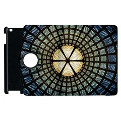 Stained Glass Colorful Glass Apple Ipad 3/4 Flip 360 Case