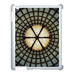 Stained Glass Colorful Glass Apple Ipad 3/4 Case (white) by BangZart