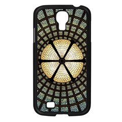 Stained Glass Colorful Glass Samsung Galaxy S4 I9500/ I9505 Case (black)