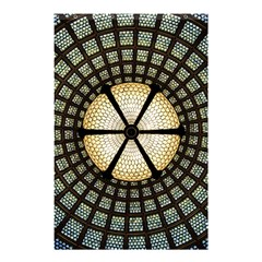 Stained Glass Colorful Glass Shower Curtain 48  X 72  (small)