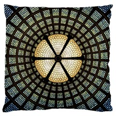 Stained Glass Colorful Glass Large Cushion Case (two Sides)