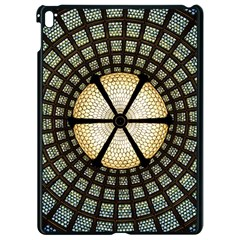Stained Glass Colorful Glass Apple Ipad Pro 9 7   Black Seamless Case