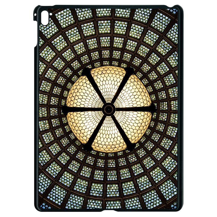 Stained Glass Colorful Glass Apple iPad Pro 9.7   Black Seamless Case