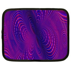 Abstract Fantastic Fractal Gradient Netbook Case (xxl)