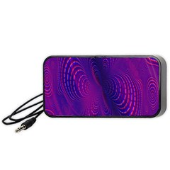 Abstract Fantastic Fractal Gradient Portable Speaker
