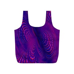 Abstract Fantastic Fractal Gradient Full Print Recycle Bags (s)