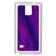 Abstract Fantastic Fractal Gradient Samsung Galaxy Note 4 Case (white)