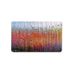 Glass Colorful Abstract Background Magnet (name Card) by BangZart