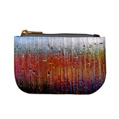 Glass Colorful Abstract Background Mini Coin Purses by BangZart