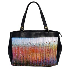 Glass Colorful Abstract Background Office Handbags (2 Sides)