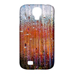 Glass Colorful Abstract Background Samsung Galaxy S4 Classic Hardshell Case (pc+silicone)