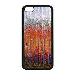 Glass Colorful Abstract Background Apple Iphone 5c Seamless Case (black) by BangZart
