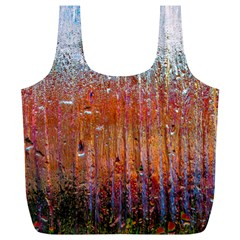 Glass Colorful Abstract Background Full Print Recycle Bags (l)  by BangZart