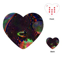 The Fourth Dimension Fractal Playing Cards (heart)