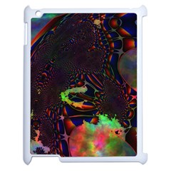 The Fourth Dimension Fractal Apple Ipad 2 Case (white) by BangZart