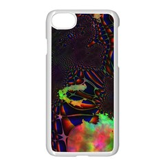 The Fourth Dimension Fractal Apple Iphone 7 Seamless Case (white) by BangZart