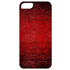 Red Grunge Texture Black Gradient Apple Iphone 5 Classic Hardshell Case