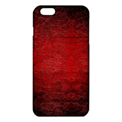 Red Grunge Texture Black Gradient Iphone 6 Plus/6s Plus Tpu Case