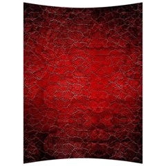 Red Grunge Texture Black Gradient Back Support Cushion