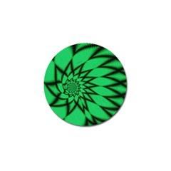 The Fourth Dimension Fractal Golf Ball Marker (10 Pack) by BangZart