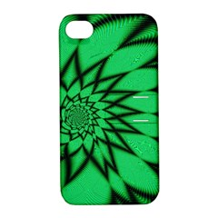 The Fourth Dimension Fractal Apple Iphone 4/4s Hardshell Case With Stand