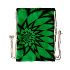 The Fourth Dimension Fractal Drawstring Bag (small)