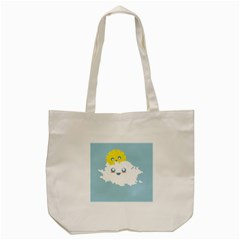Cloud Cloudlet Sun Sky Milota Tote Bag (cream)