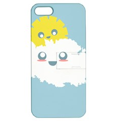 Cloud Cloudlet Sun Sky Milota Apple Iphone 5 Hardshell Case With Stand
