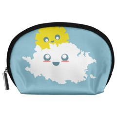 Cloud Cloudlet Sun Sky Milota Accessory Pouches (large)