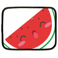 Watermelon Red Network Fruit Juicy Netbook Case (large) by BangZart