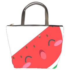 Watermelon Red Network Fruit Juicy Bucket Bags