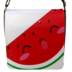 Watermelon Red Network Fruit Juicy Flap Messenger Bag (s)
