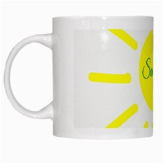 Summer Beach Holiday Holidays Sun White Mugs by BangZart