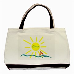 Summer Beach Holiday Holidays Sun Basic Tote Bag by BangZart