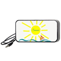 Summer Beach Holiday Holidays Sun Portable Speaker by BangZart
