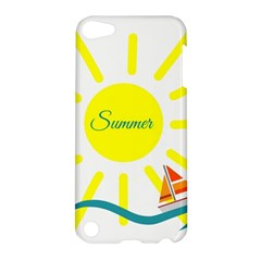 Summer Beach Holiday Holidays Sun Apple Ipod Touch 5 Hardshell Case by BangZart