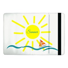 Summer Beach Holiday Holidays Sun Samsung Galaxy Tab Pro 10 1  Flip Case