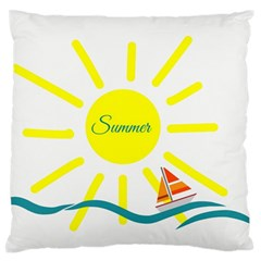 Summer Beach Holiday Holidays Sun Standard Flano Cushion Case (two Sides)