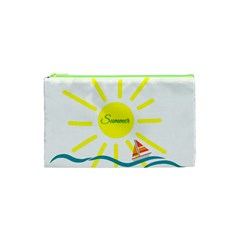 Summer Beach Holiday Holidays Sun Cosmetic Bag (xs) by BangZart