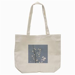 Branch Leaves Branches Plant Tote Bag (cream)
