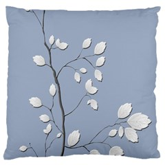 Branch Leaves Branches Plant Large Cushion Case (two Sides)
