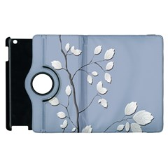 Branch Leaves Branches Plant Apple Ipad 3/4 Flip 360 Case