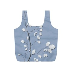 Branch Leaves Branches Plant Full Print Recycle Bags (s)