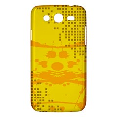 Texture Yellow Abstract Background Samsung Galaxy Mega 5 8 I9152 Hardshell Case  by BangZart