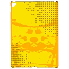 Texture Yellow Abstract Background Apple Ipad Pro 12 9   Hardshell Case by BangZart