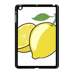 Lemon Fruit Green Yellow Citrus Apple Ipad Mini Case (black)